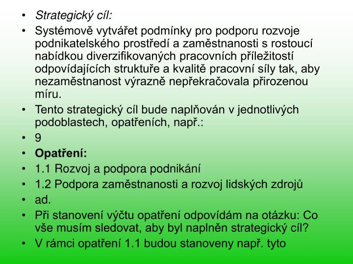 Strategick cl: