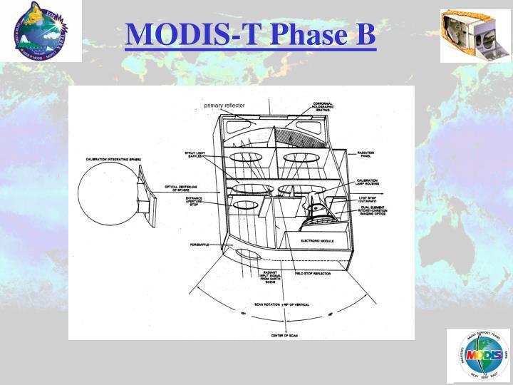 MODIS-T Phase B