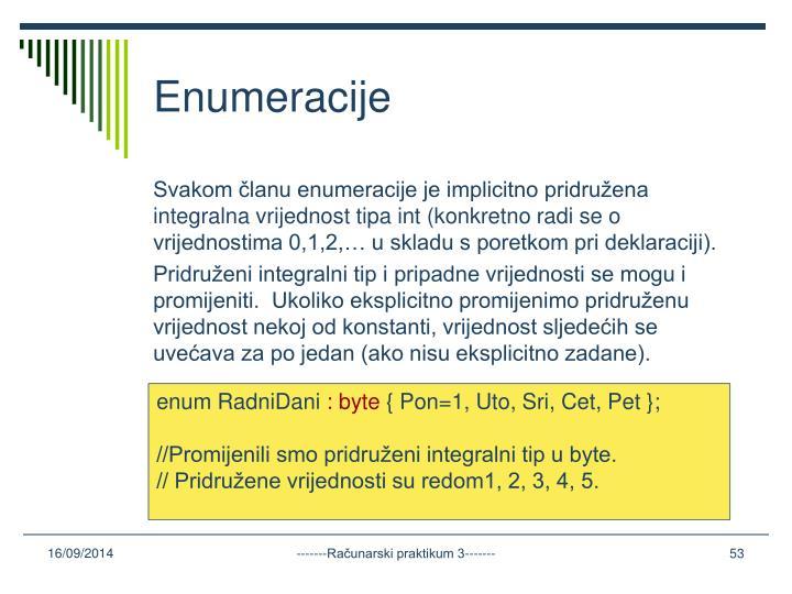 Enumeracije