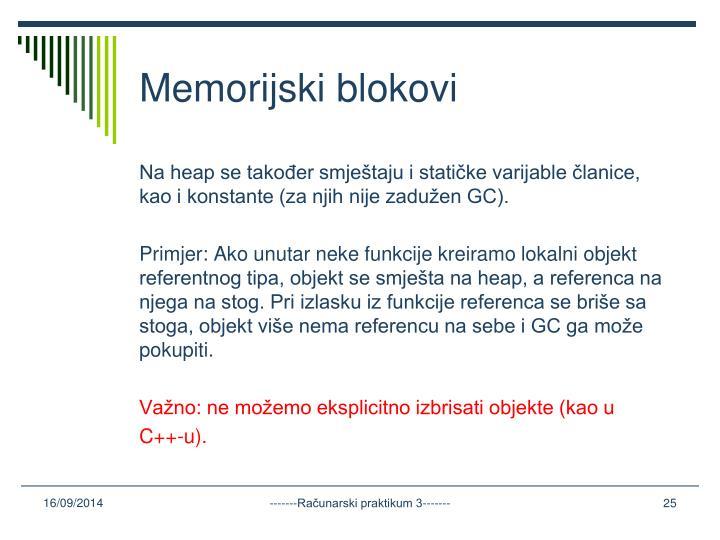 Memorijski blokovi