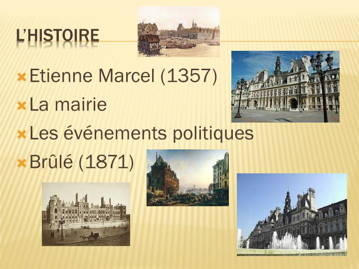 Etienne Marcel (1357)