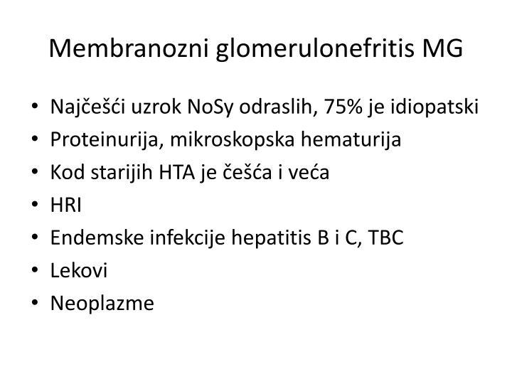 Membranozni glomerulonefritis