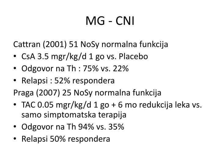 MG - CNI