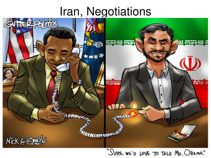 Iran, Negotiations