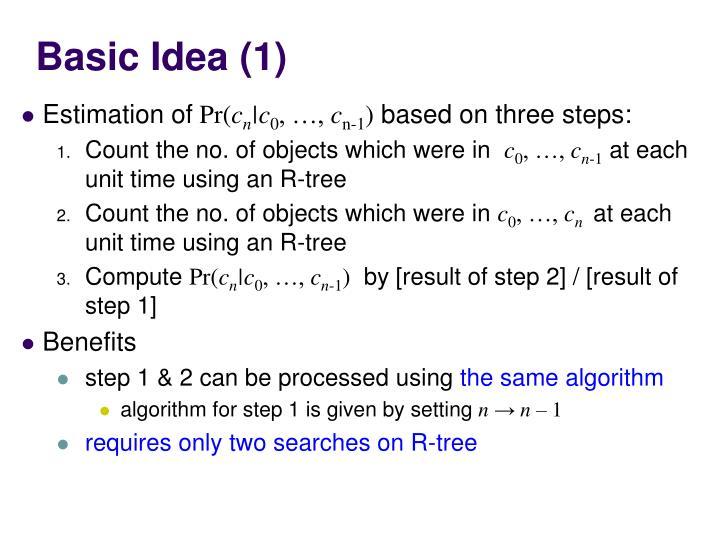 Basic Idea (1)