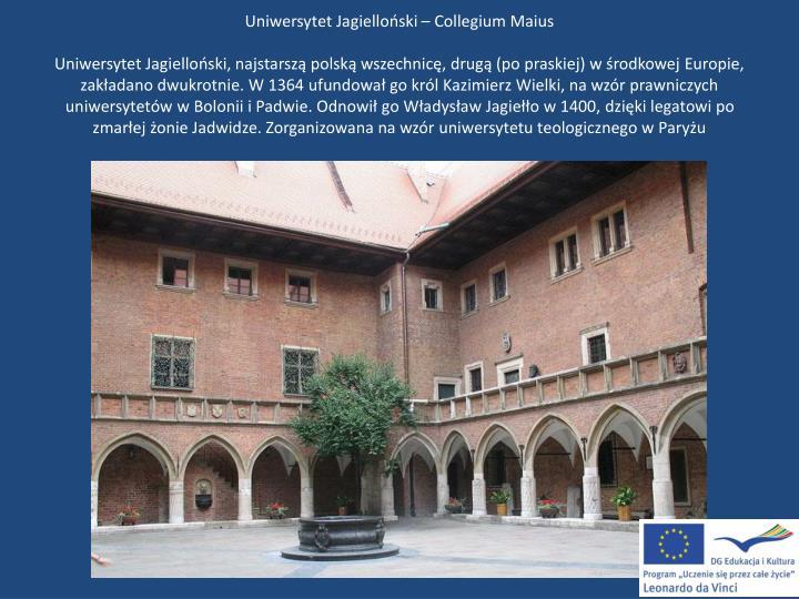 Uniwersytet Jagielloński – Collegium