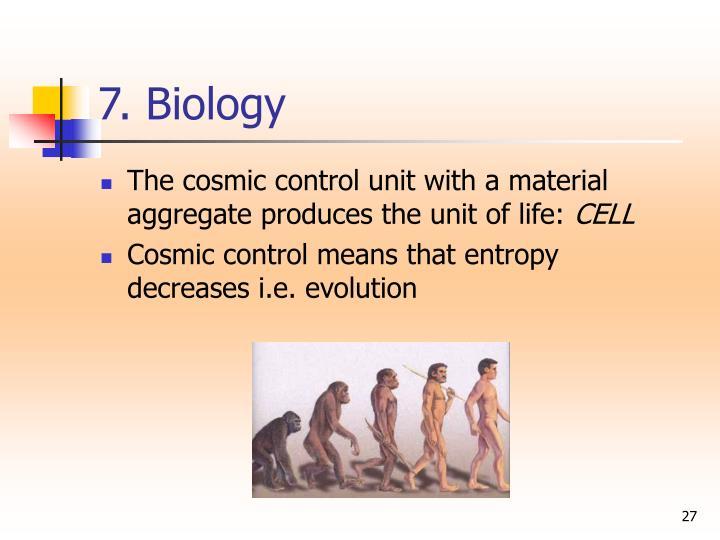 7. Biology