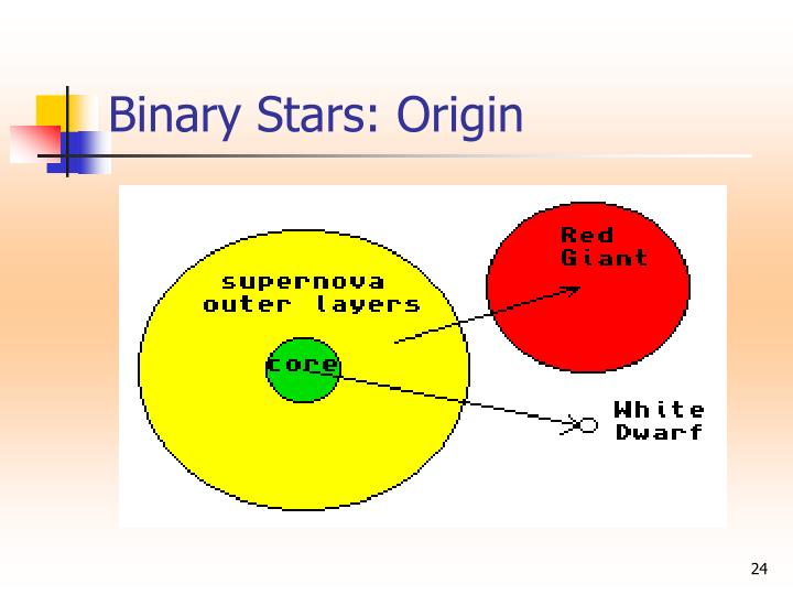 Binary Stars: Origin