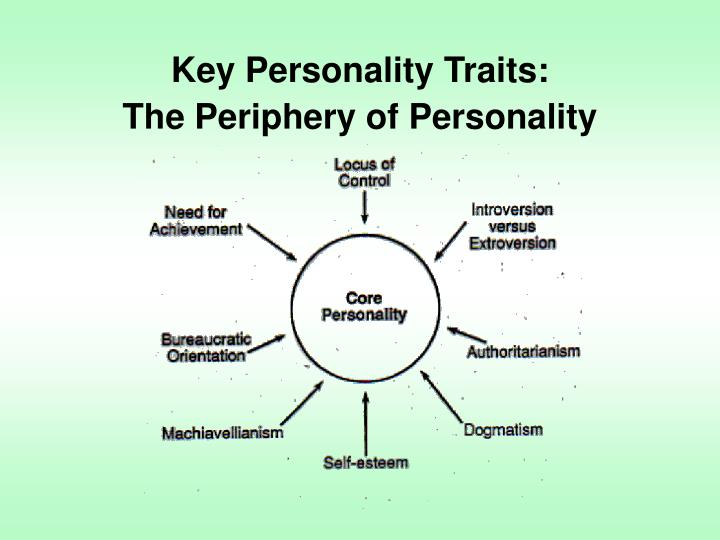 Key Personality Traits:
