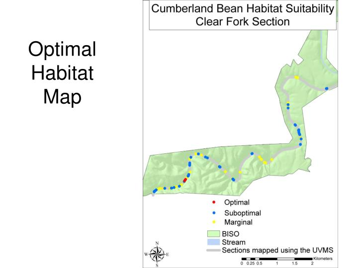 Optimal Habitat Map