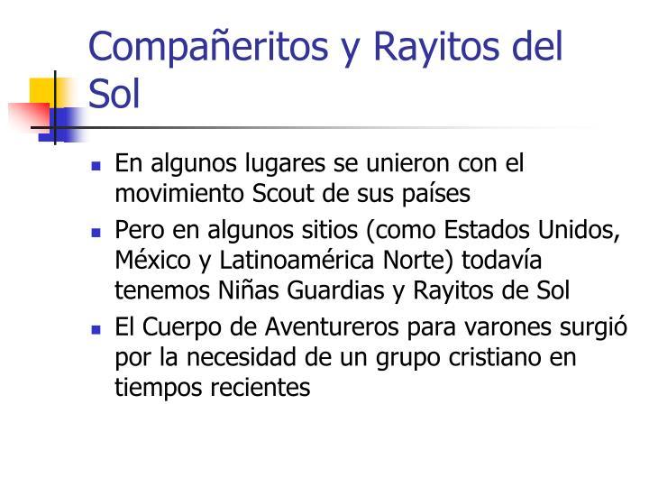 Compañeritos y Rayitos del Sol