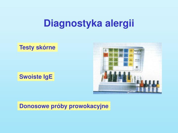 Diagnostyka alergii