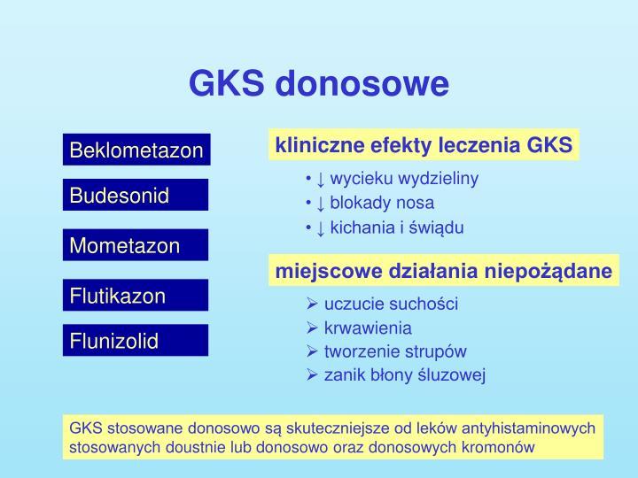 GKS donosowe