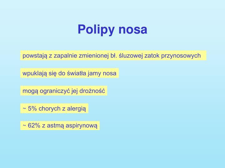 Polipy nosa