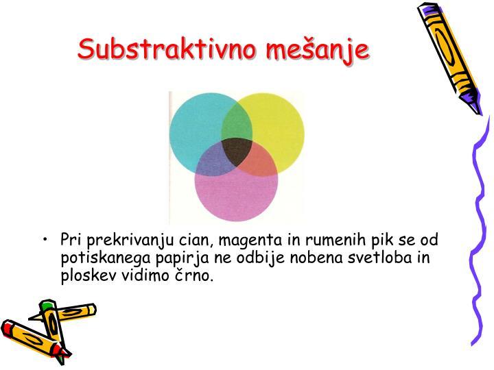 Substraktivno mešanje