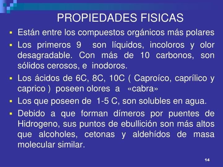 PROPIEDADES FISICAS