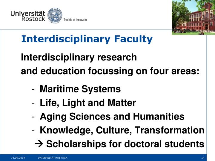 Interdisciplinary Faculty