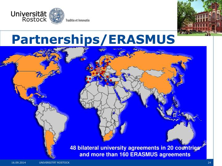 Partnerships/ERASMUS