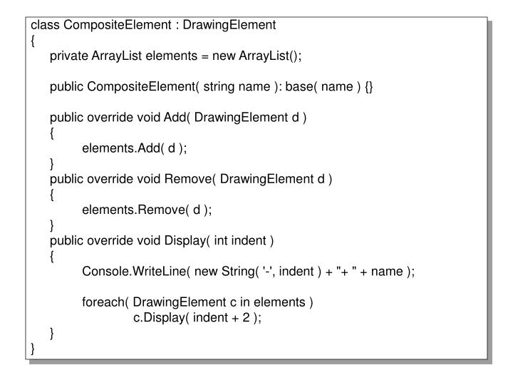 class CompositeElement : DrawingElement