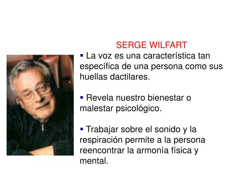 SERGE WILFART