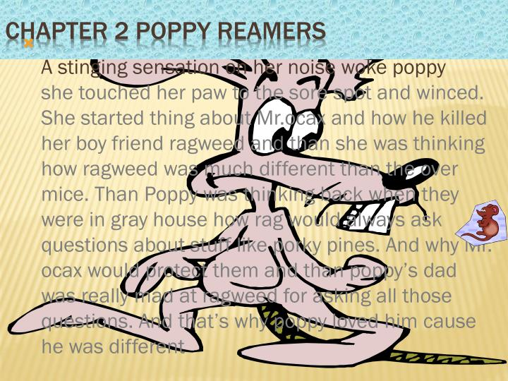 Chapter 2 poppy reamers