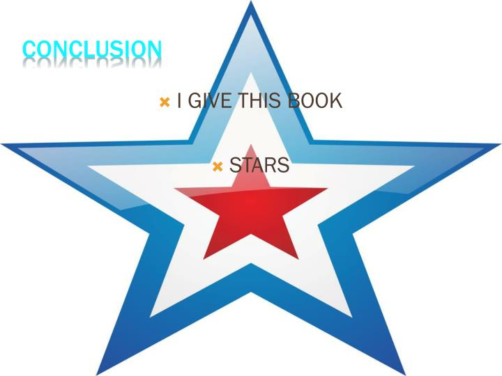 I GIVE THIS BOOK