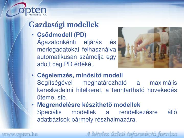 Gazdasági modellek