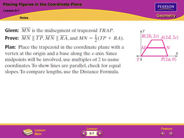 Placing Figures in the Coordinate Plane
