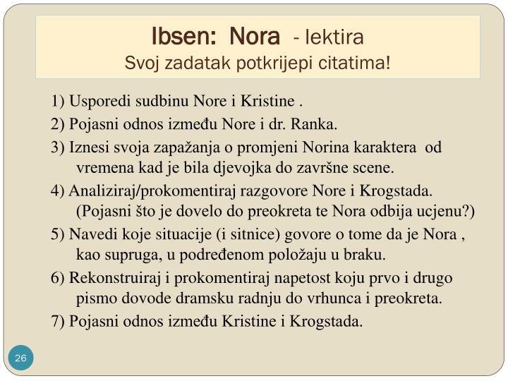 Ibsen:  Nora