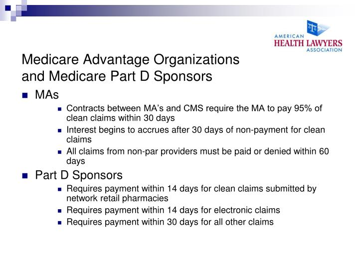 Medicare Advantage Organizations