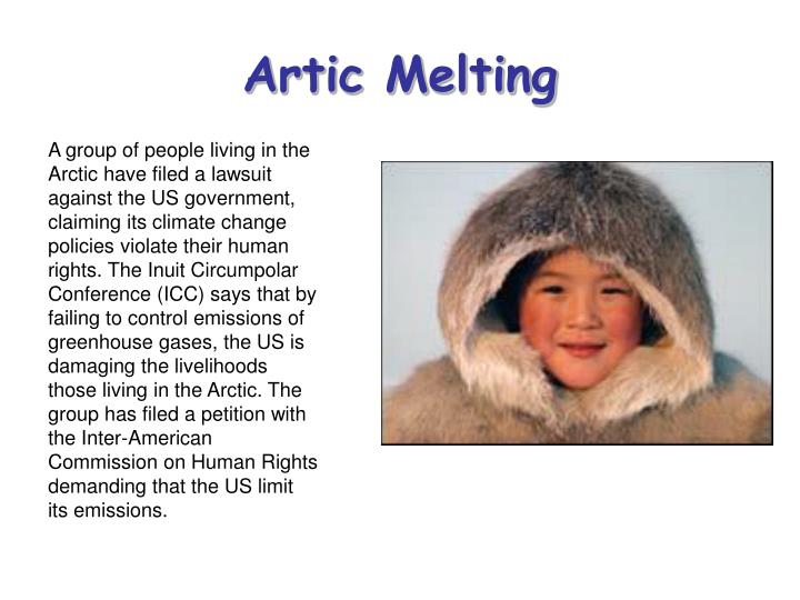 Artic melting