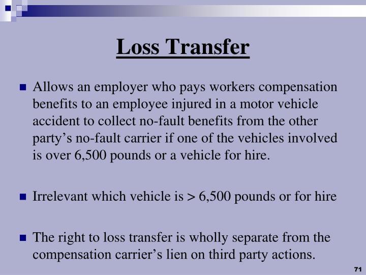 Loss Transfer