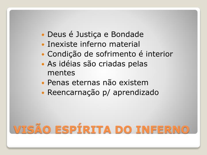 Deus é Justiça e Bondade