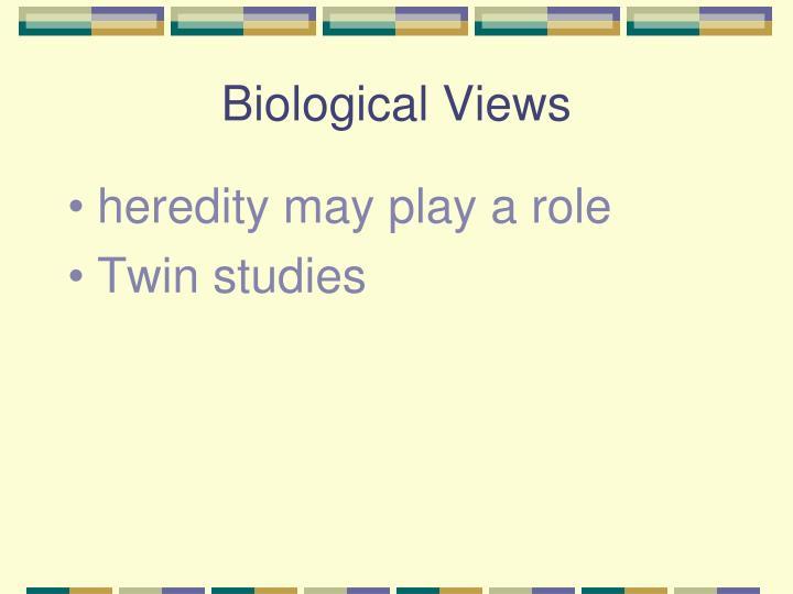 Biological Views