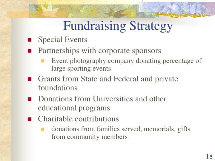 Fundraising Strategy