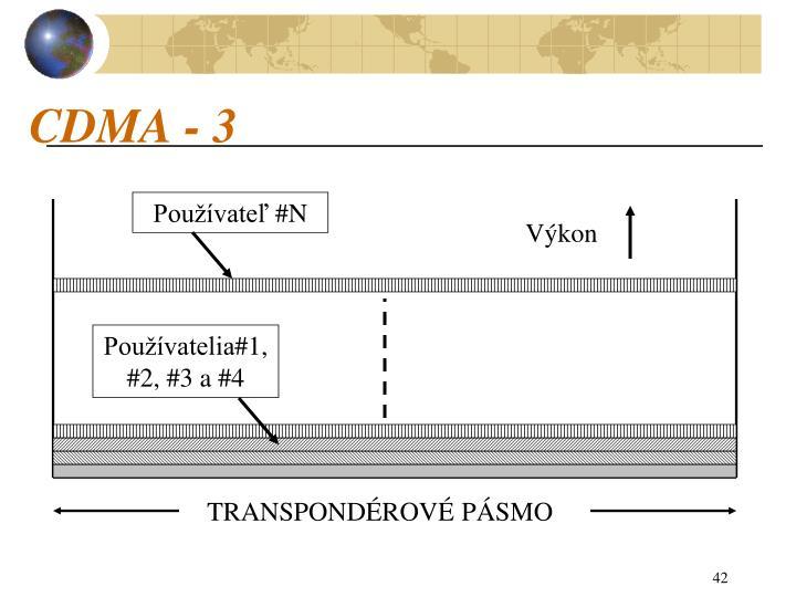 CDMA - 3
