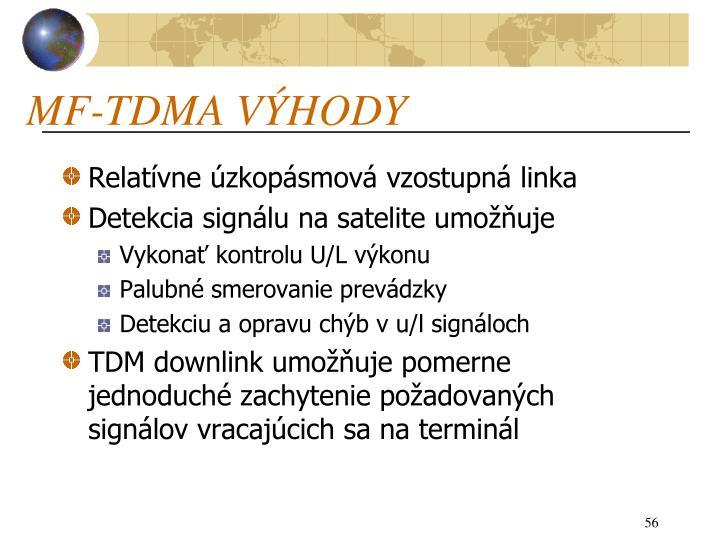 MF-TDMA