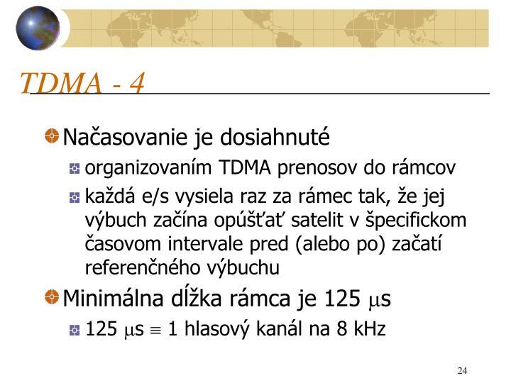 TDMA - 4