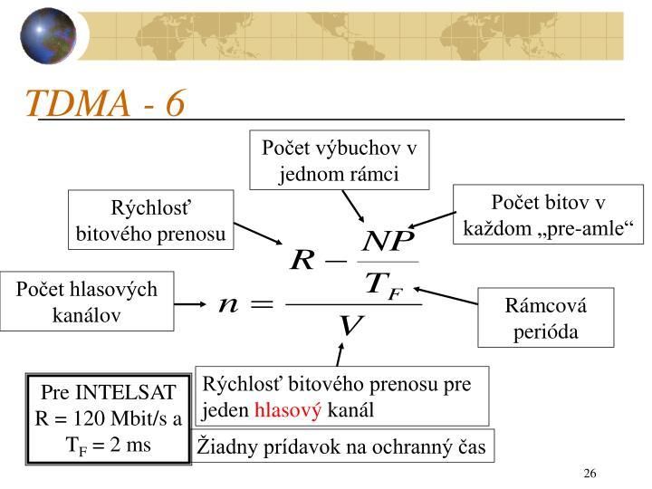 TDMA - 6