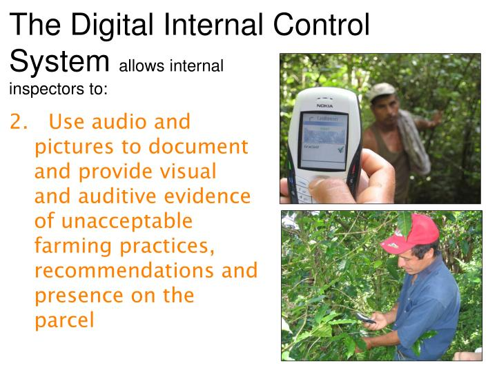 The Digital Internal Control System