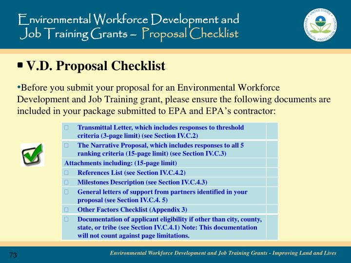 Environmental Workforce Development and