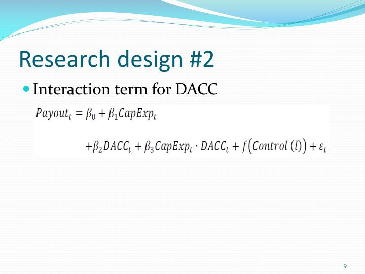 Research design #2