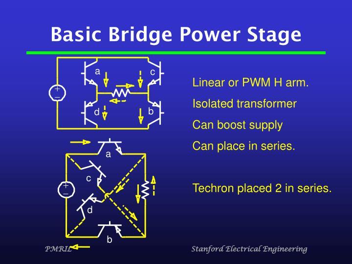 Basic Bridge Power Stage