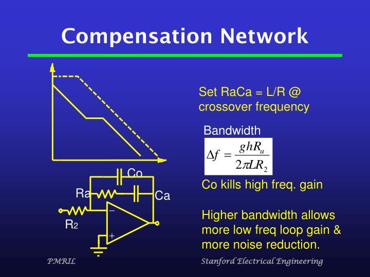 Compensation Network