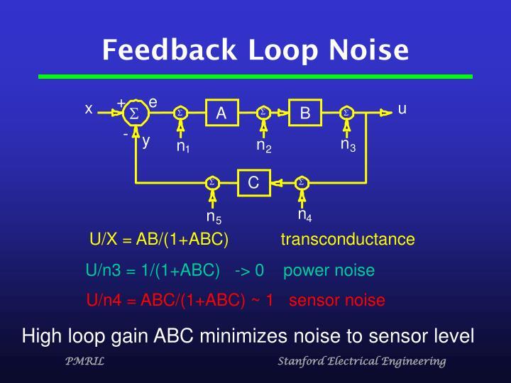 Feedback Loop Noise
