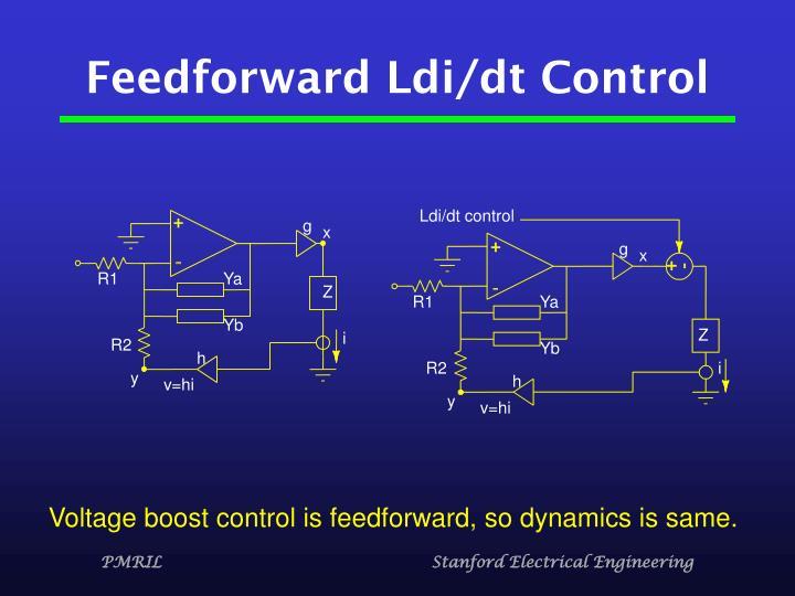Feedforward Ldi/dt Control