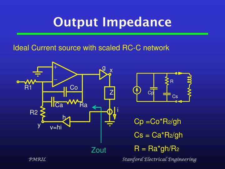 Output Impedance