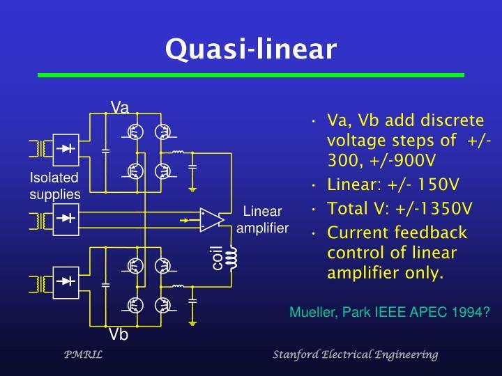 Quasi-linear
