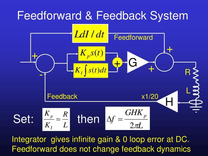 Feedforward & Feedback System