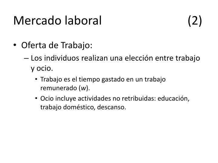 Mercado laboral(2)